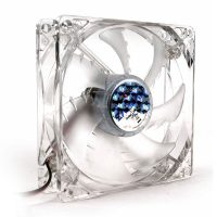 Cooler Zalman ZM-F3 LED (SF), 12CM, Illuminat LED Albastru