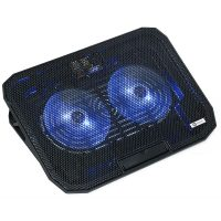 "Notebook Cooling Pad A+ CIC2B, 15.6"", Black"