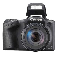 Aparat Foto Digital Canon SX430 IS, 20.5 MP, 45X Zoom, Negru + Cadou Card Memorie SD SanDisk 16 GB 48 Mb/s Speed