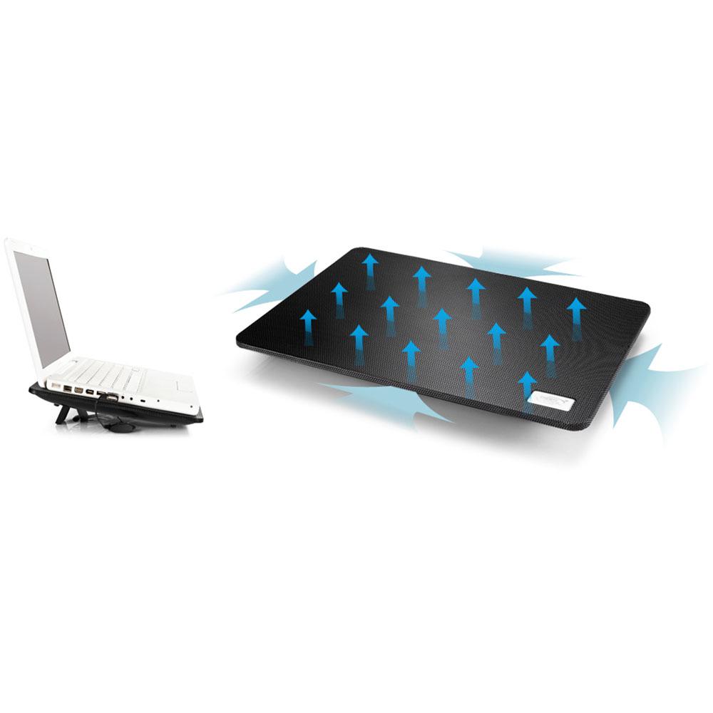"""Notebook Cooling Pad DeepCool N1, 15.6"""", Black"""