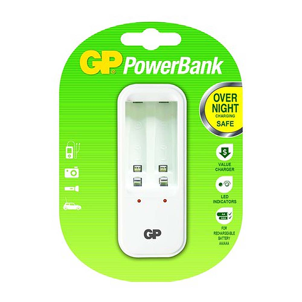 Incarcator GP PowerBank AA/AAA (R3/R6) NiMH