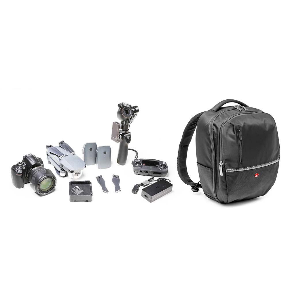 Rucsac Foto Manfrotto Advanced Gear Backpack M (Medium), DSLR, Negru