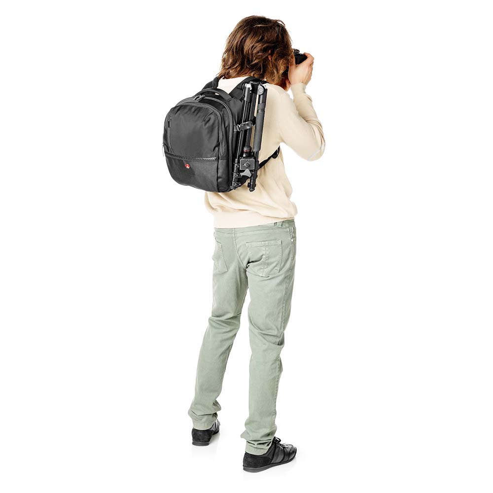Rucsac Foto Manfrotto Advanced Gear Backpack M (Medium), DSLR, Negru