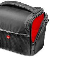 Geanta Foto Manfrotto Shoulder Bag A6, Husa de Ploaie, Pentru DSLR, Negru