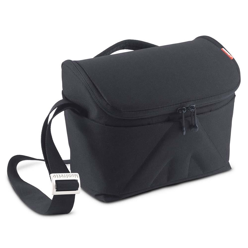 Geanta Foto Manfrotto Shoulder Bag Amica 50, Pentru DSLR, Negru