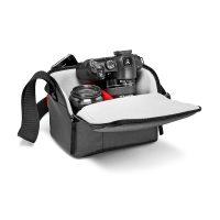 Geanta Foto Manfrotto NX Shoulder Bag I, Pentru DSLR, Negru