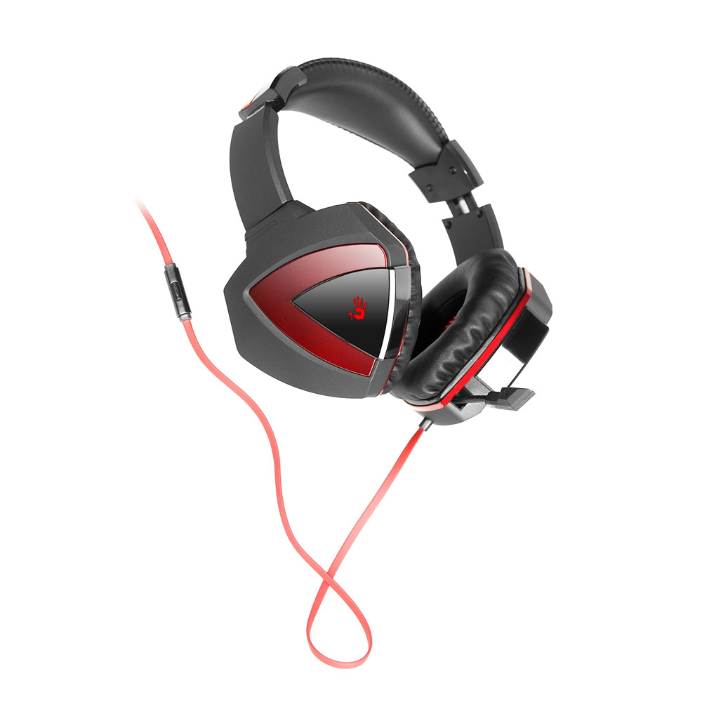 Casti Gaming A4Tech Bloody G500, Microfon, Negru