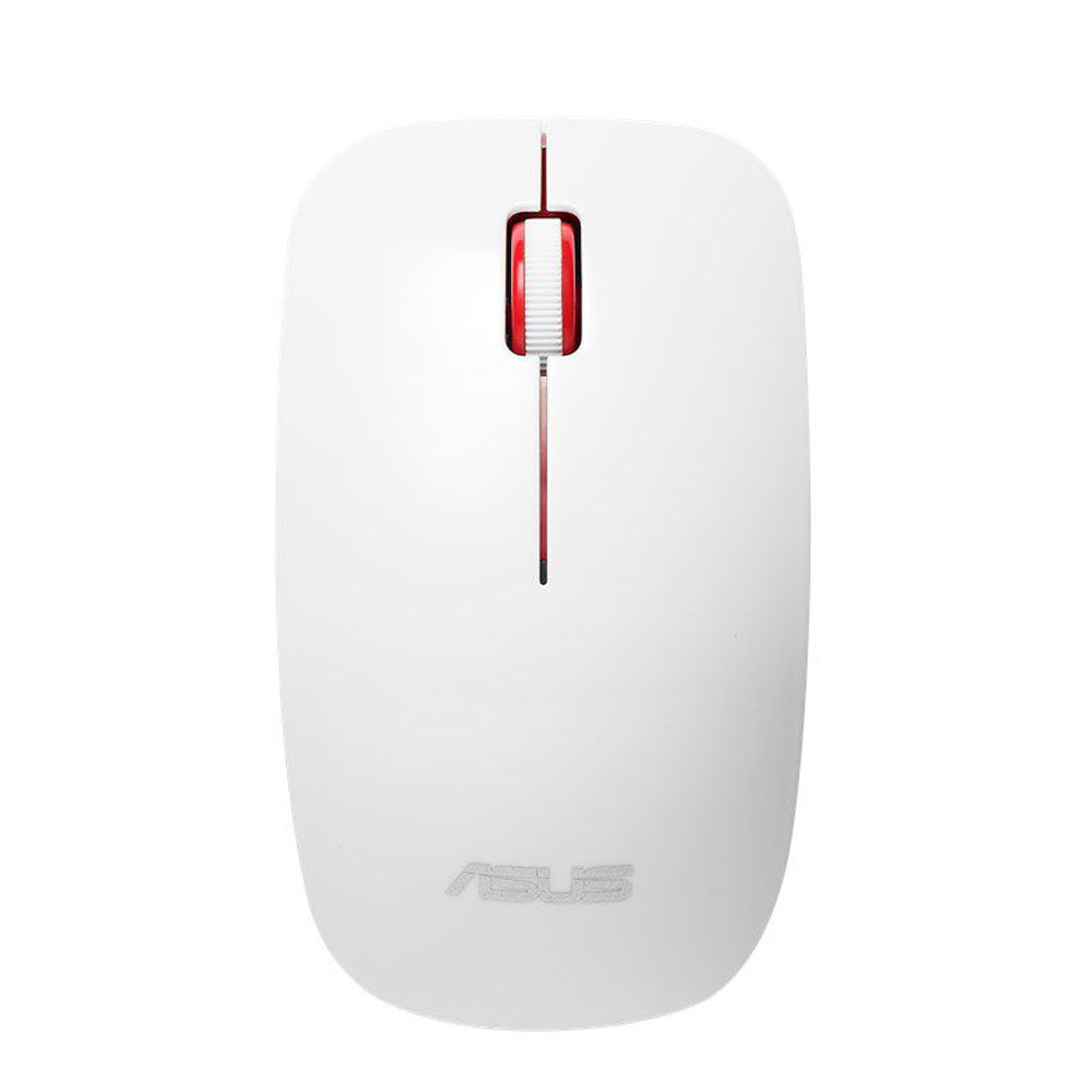 Mouse Optic Wireless, 1600DPI, 3 ButoaneRotite, Alb, Asus WT300
