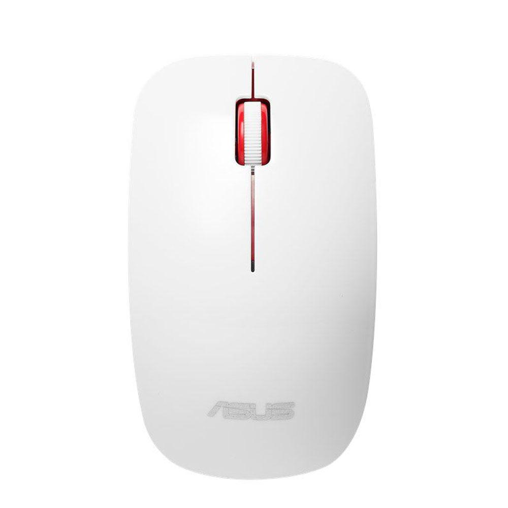 Mouse Optic Wireless, 1600DPI, 3 ButoaneRotite, Alb, Asus WT300
