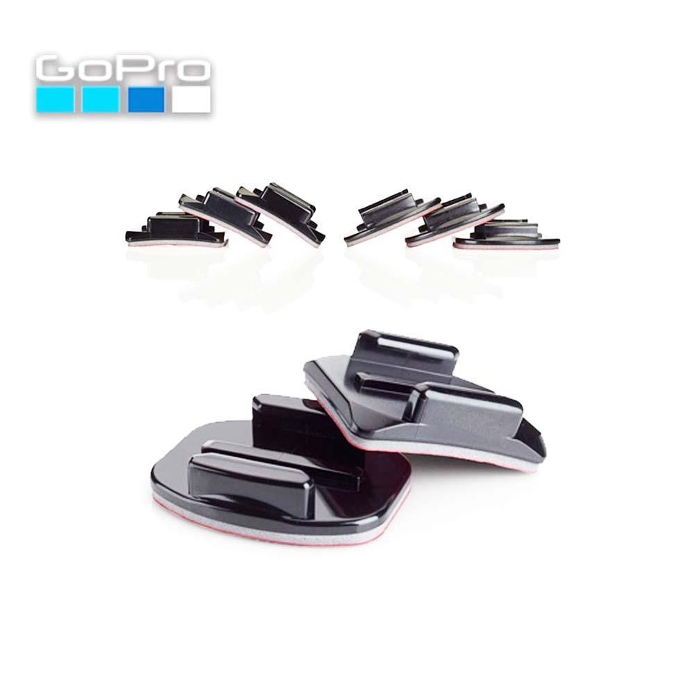 Kit Suporturi Adezive GoPro AACFT-001 Negru