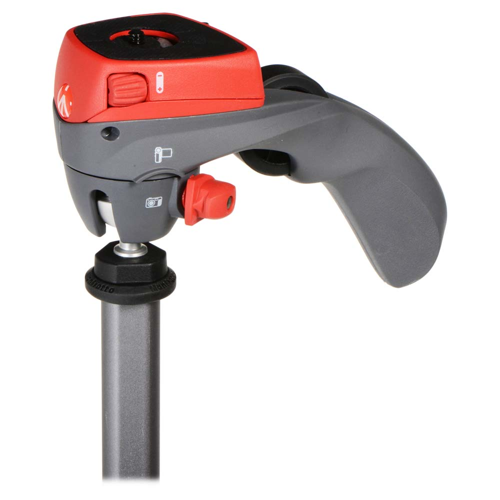 Trepied Foto/ Video Manfrotto Action RED