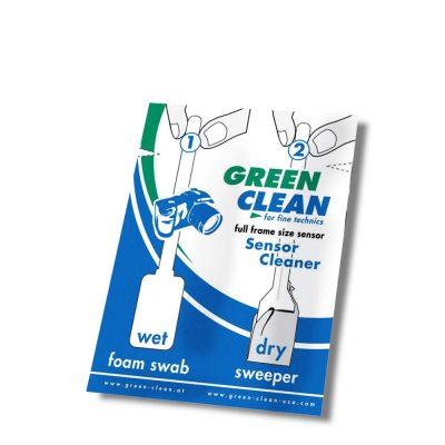 Set Spatule Wet&Dry Full-Frame Green Clean