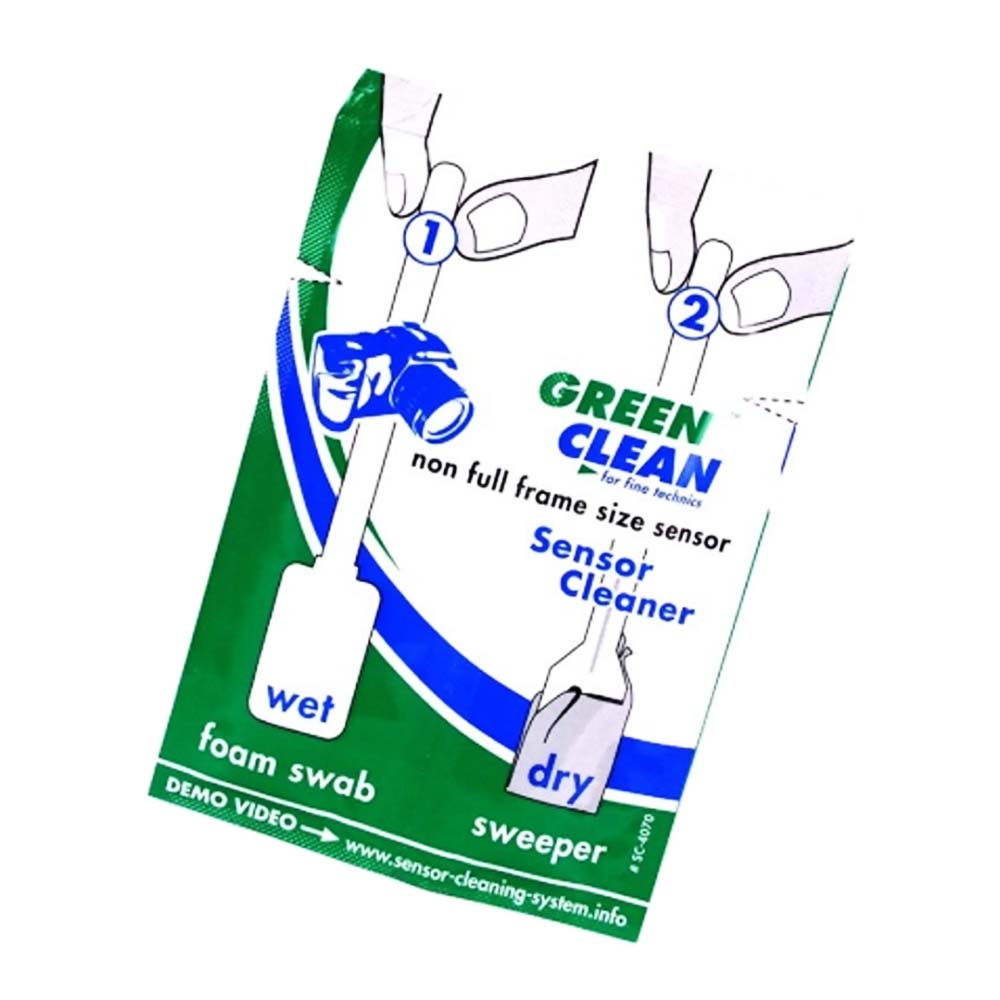 Set Spatule Wet&Dry NonFull-Frame Green Clean