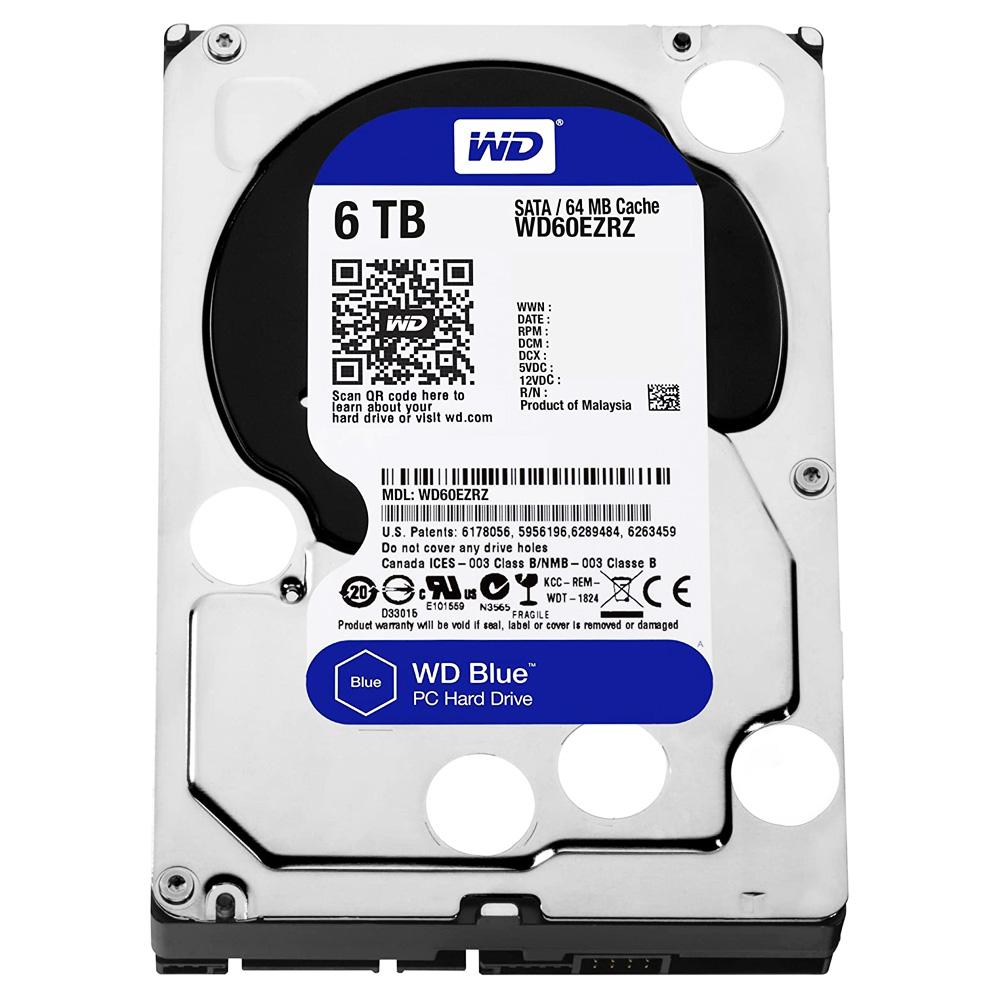Hard Disk Desktop WesternDigital Blue 6TB