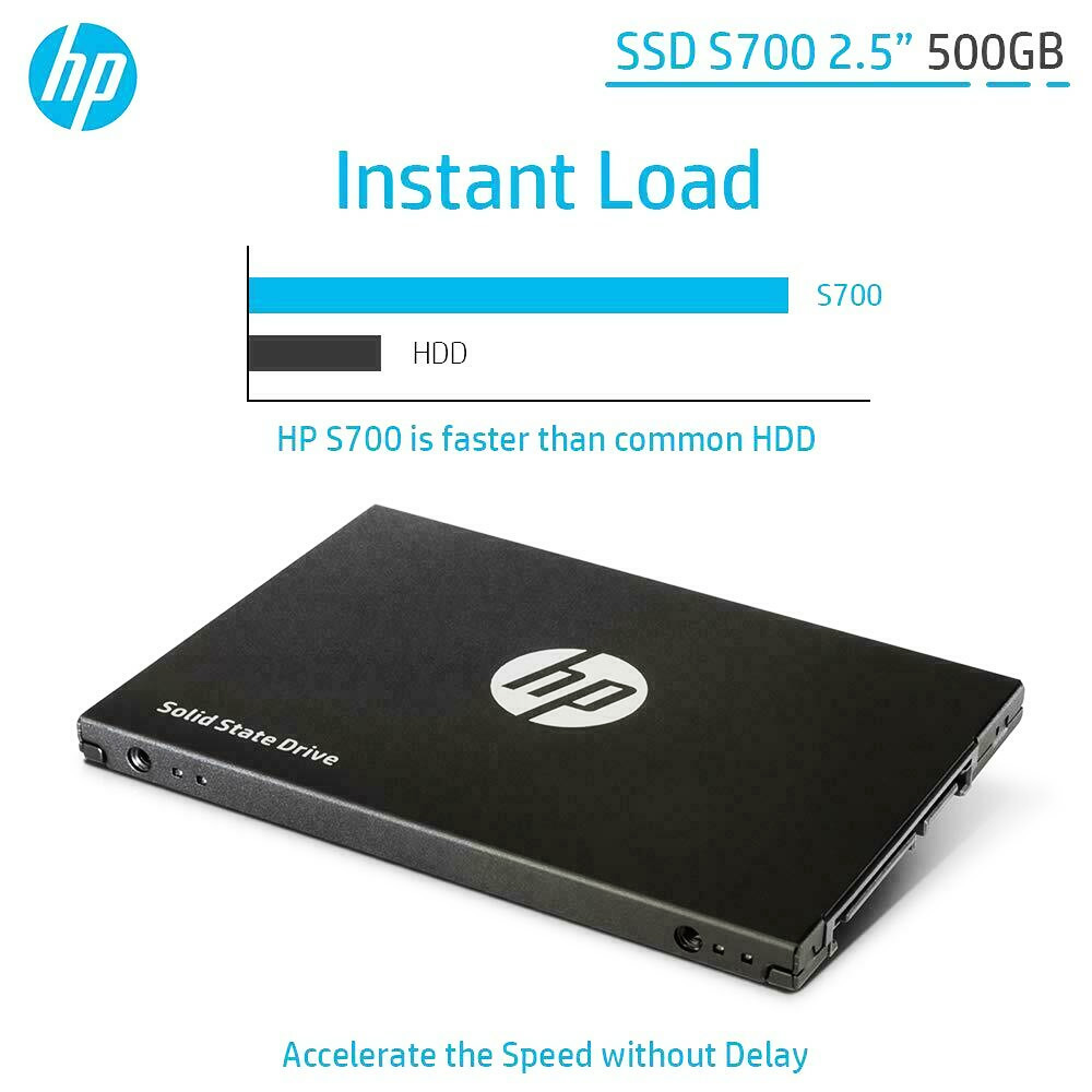 "SSD HP S700 500GB 2.5"" SATA-III"