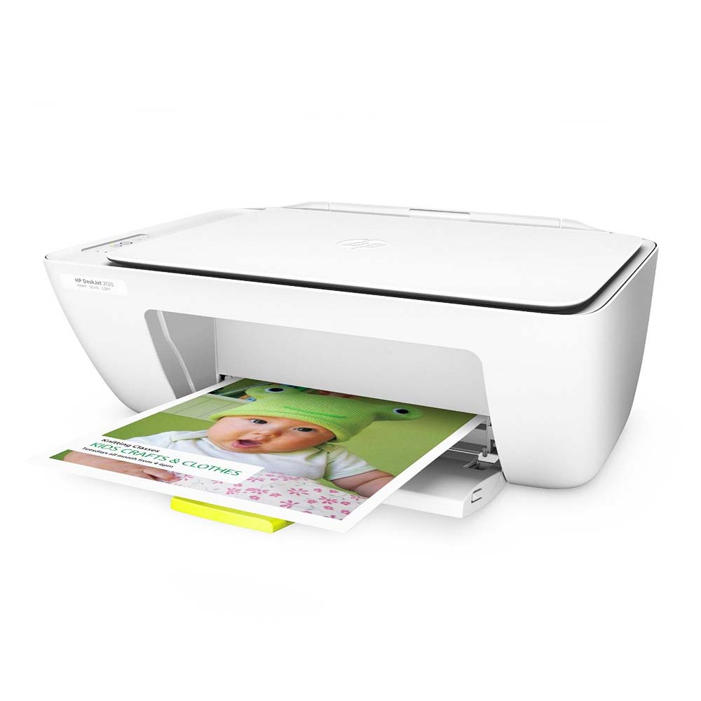 Imprimanta Multifunctional Inkjet Color HP DeskJet 2130 All-In-One, A4, Alb