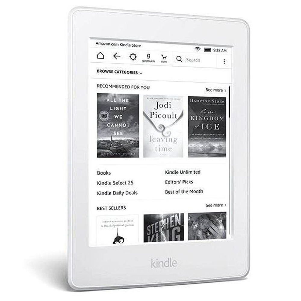 "Ebook Reader Kindle PaperWhite 6"" Alb"