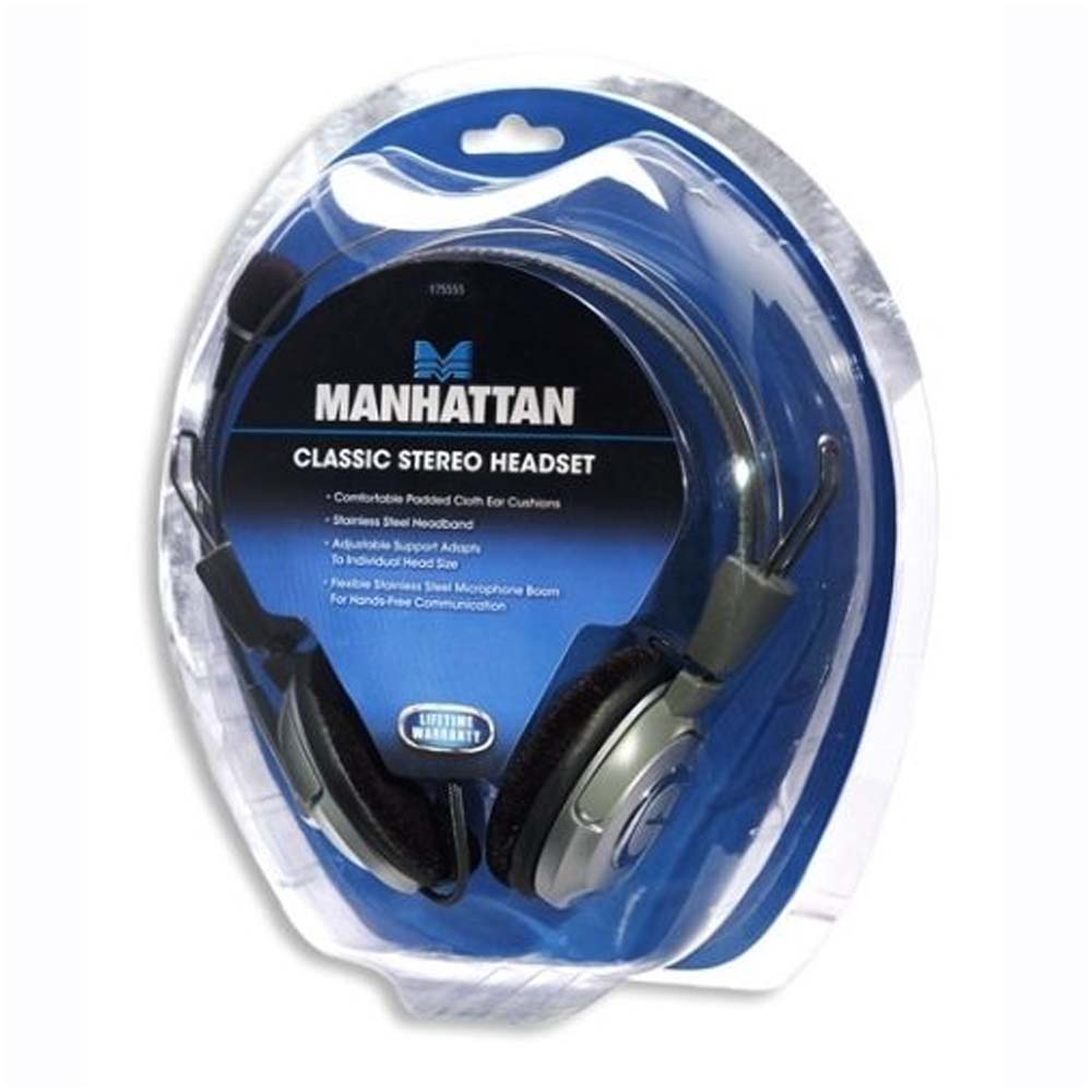 Casti Multimedia Stereo Manhattan 175555 Gri