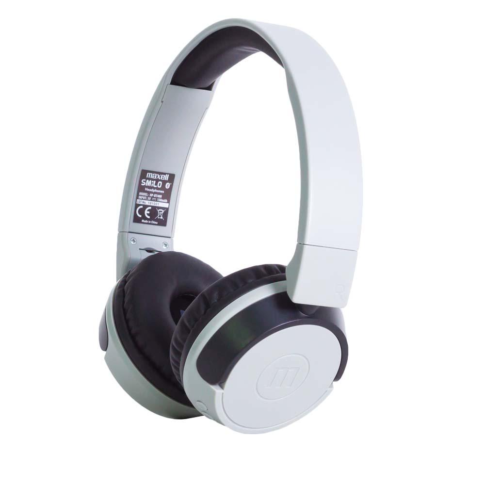Casti Stereo Maxell Smilo Gri Bluetooth