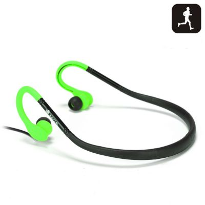 Casti Sport Stereo NGS Green Cougar