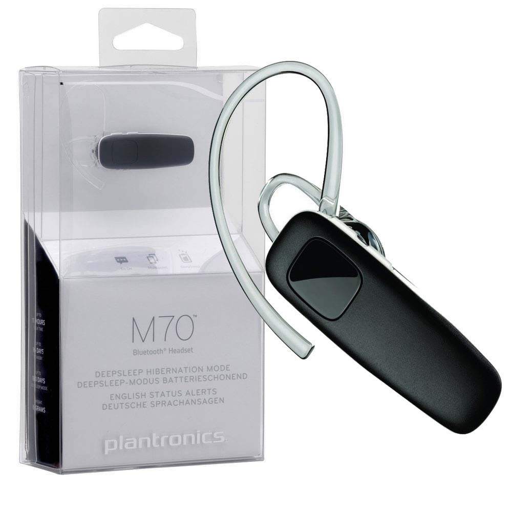 Headset Bluetooth V3.0 Plantronics M70 Negru