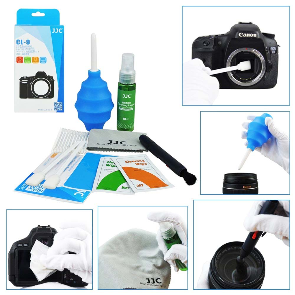 Kit Curatare Aparate Foto JJC CL-9