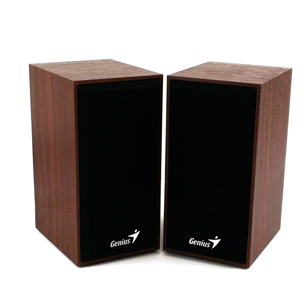 Boxe 2.0 Genius SP-HF180 6W Wood