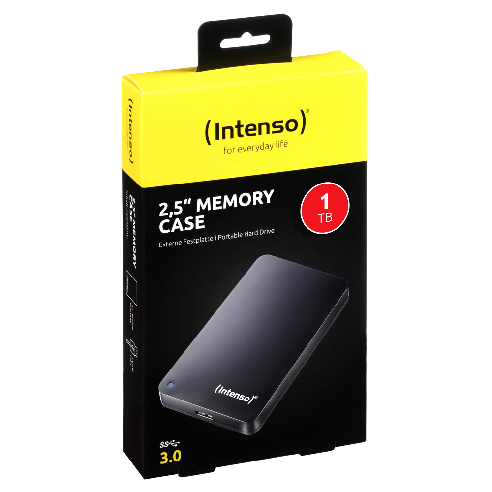 HDD Extern Intenso Memory Case 1TB