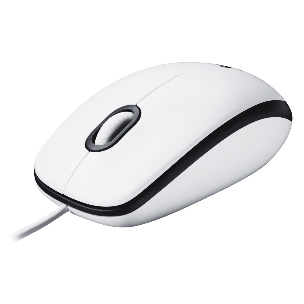 Mouse Optic Logitech B100 Alb