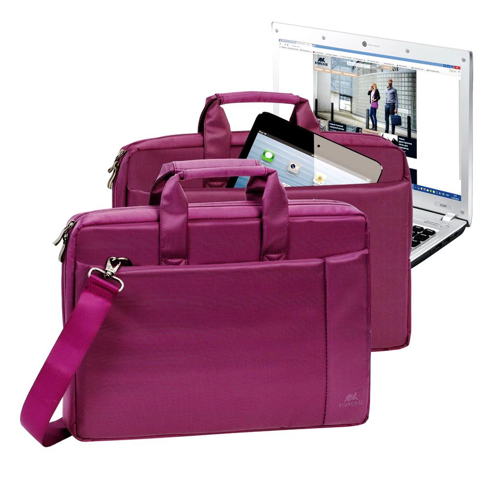 "Geanta Laptop Rivacase 8231 15.6"" Purple"