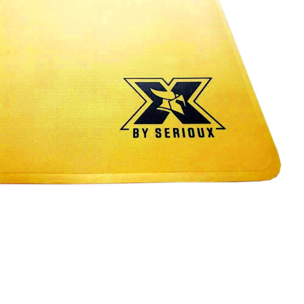 Gaming Mouse Pad Serioux X-MP-ORRIN-G Galben