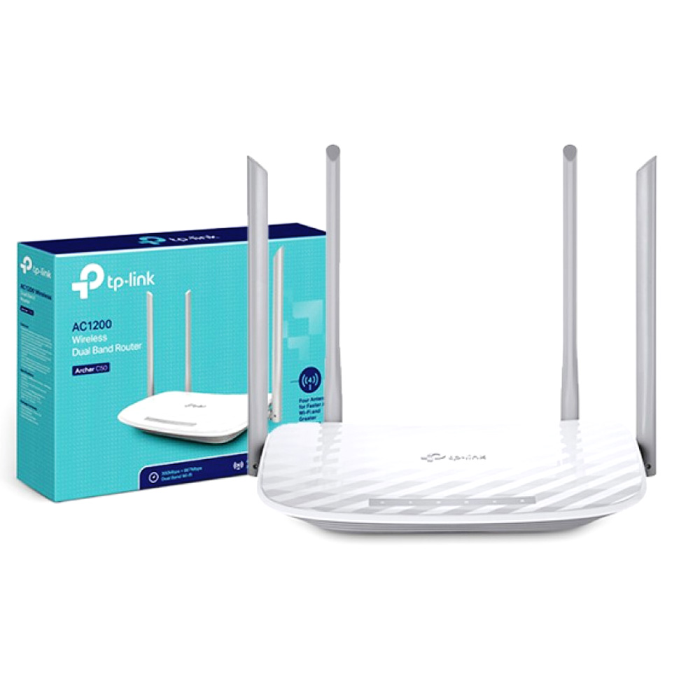 Router Wireless AC1200 TP-Link Archer C50
