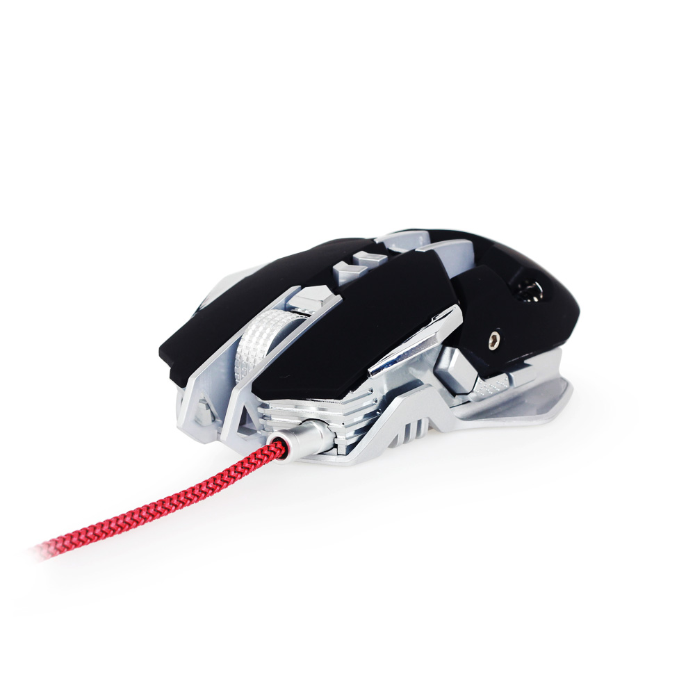 Mouse Gaming Optic Gembird MUSG-05 Argintiu