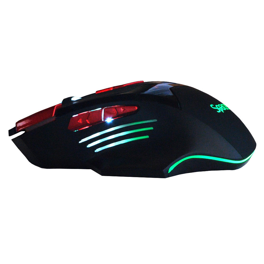 Mouse Gaming Optic Spacer SP-GM-02 Negru