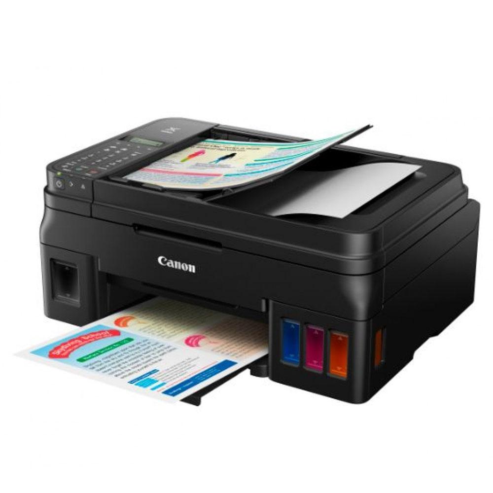 Imprimanta Multifunctional Inkjet Color CISS Canon G4400, A4, Negru, Resigilat