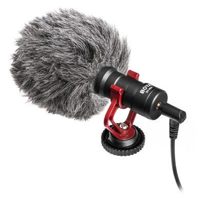 Microfon Boya BY-MM1 Pentru Camere Foto