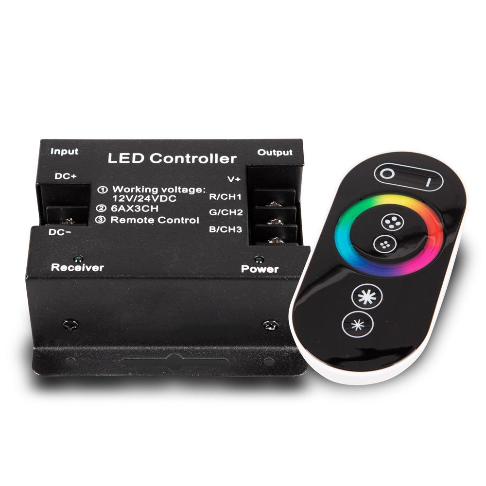 Controler LED RGB Cu Telecomanda Touch
