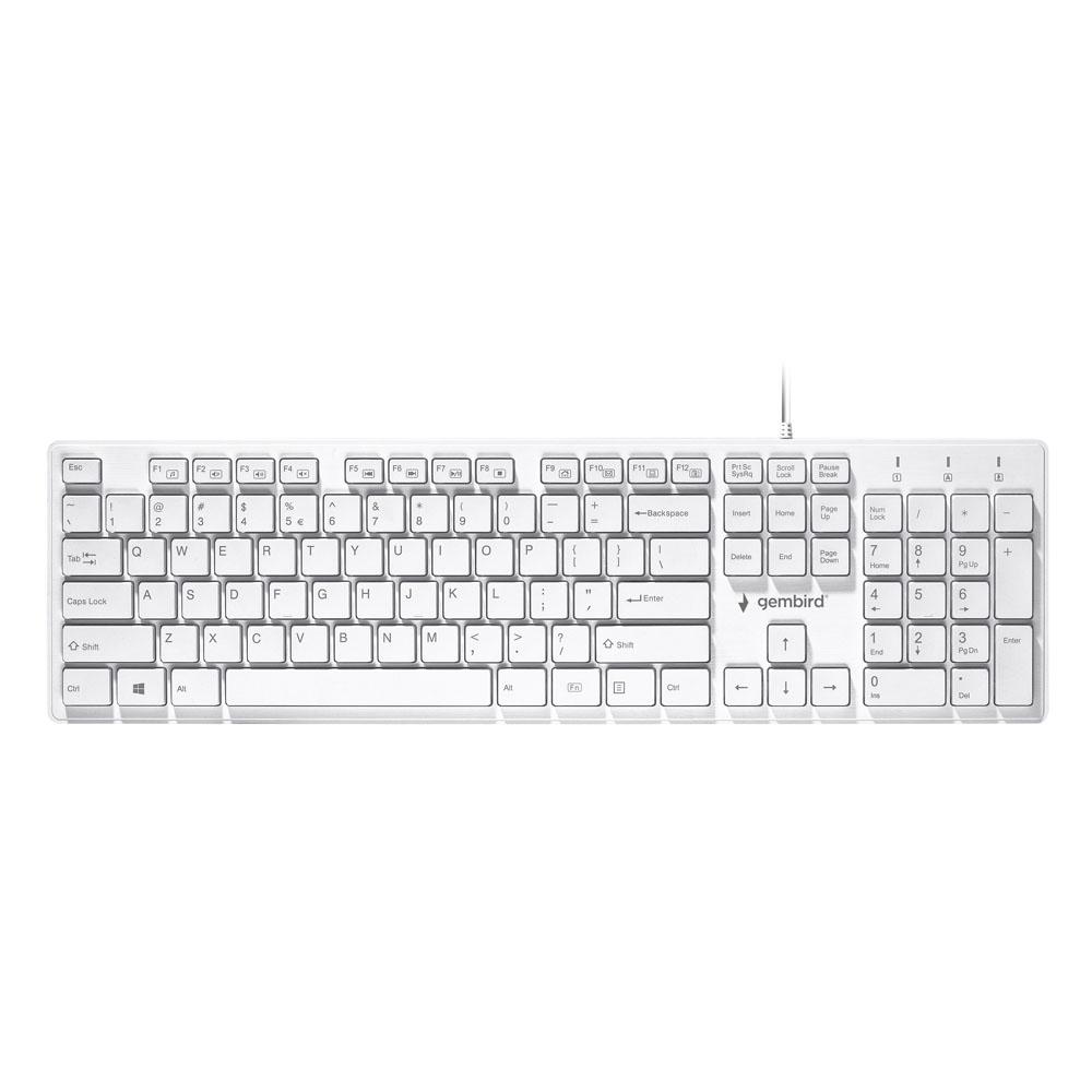 Tastatura Multimedia Gembird Chocolate US layout
