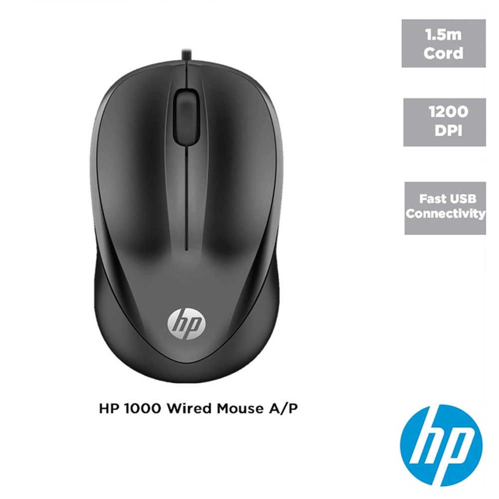 Mouse Cu Fir HP 1000 USB