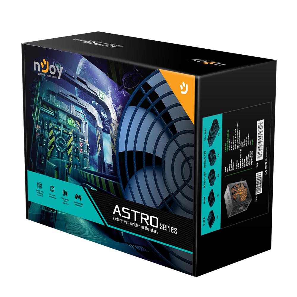Sursa nJoy Astro 650 650W 80+