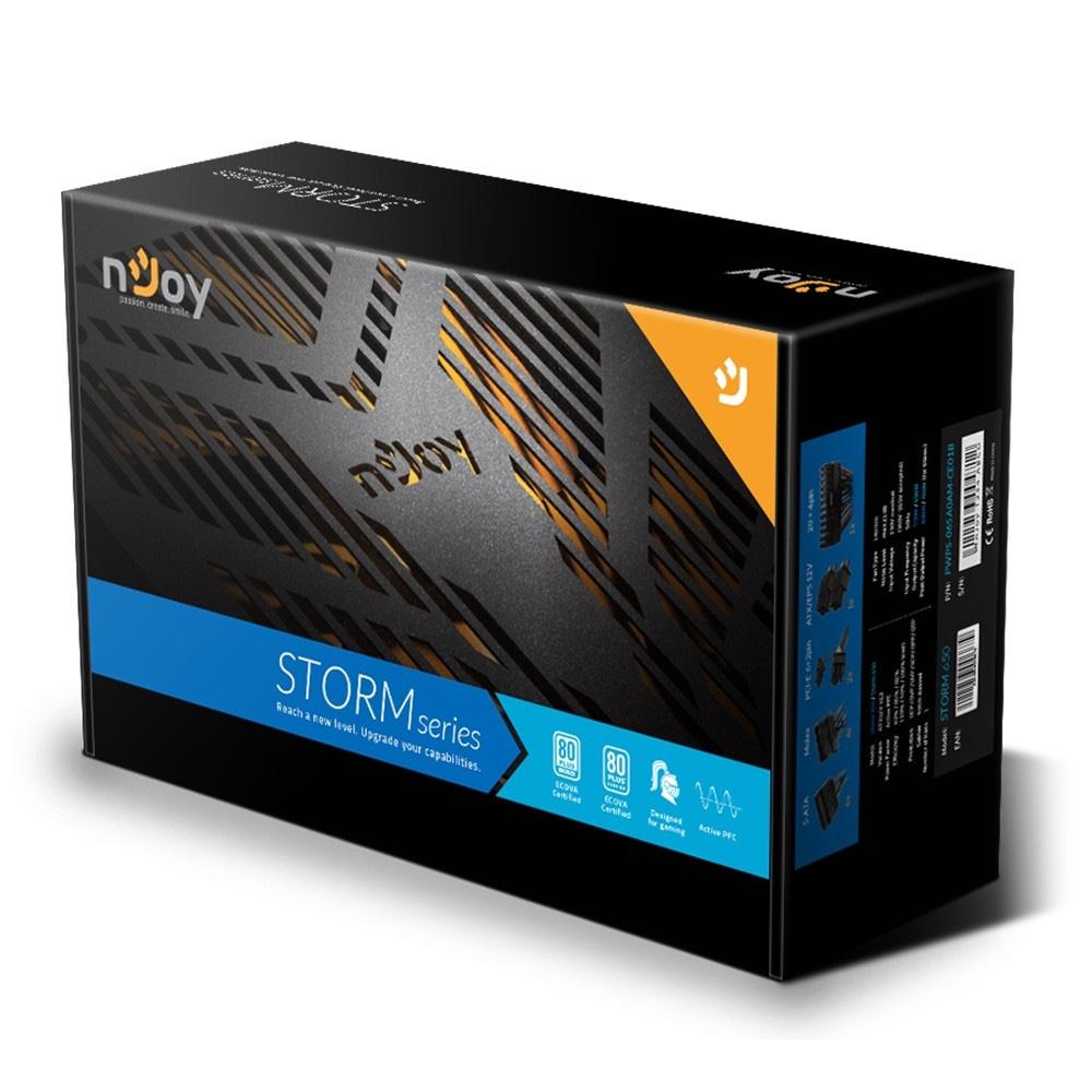 Sursa nJoy Storm 650 650W 80+