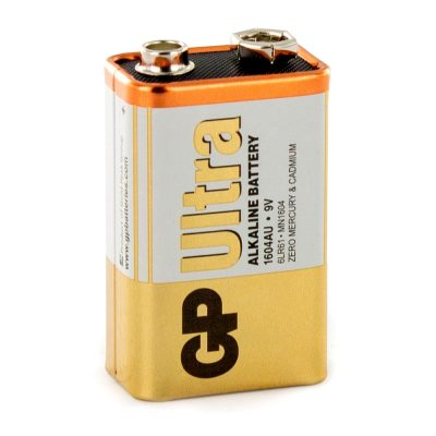 Baterie GP Batteries Ultra Alcalina 9V
