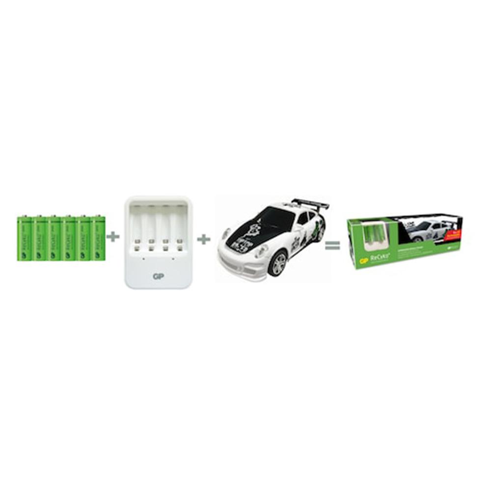 Pachet Incarcator AA/AAA/R3/R6 GP Batteries