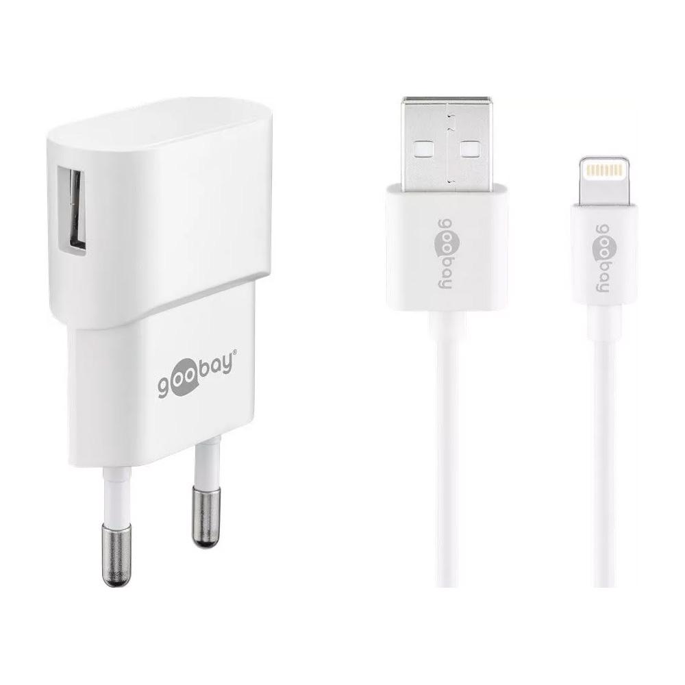 Alimentator USB Goobay PSUP-USB-WSL110WE Cablu lightning