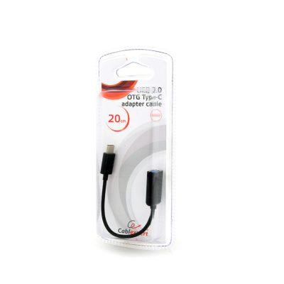 Cablu Adaptor OTG Cablexpert AB-OTG-CMAF2-01 USB2.0
