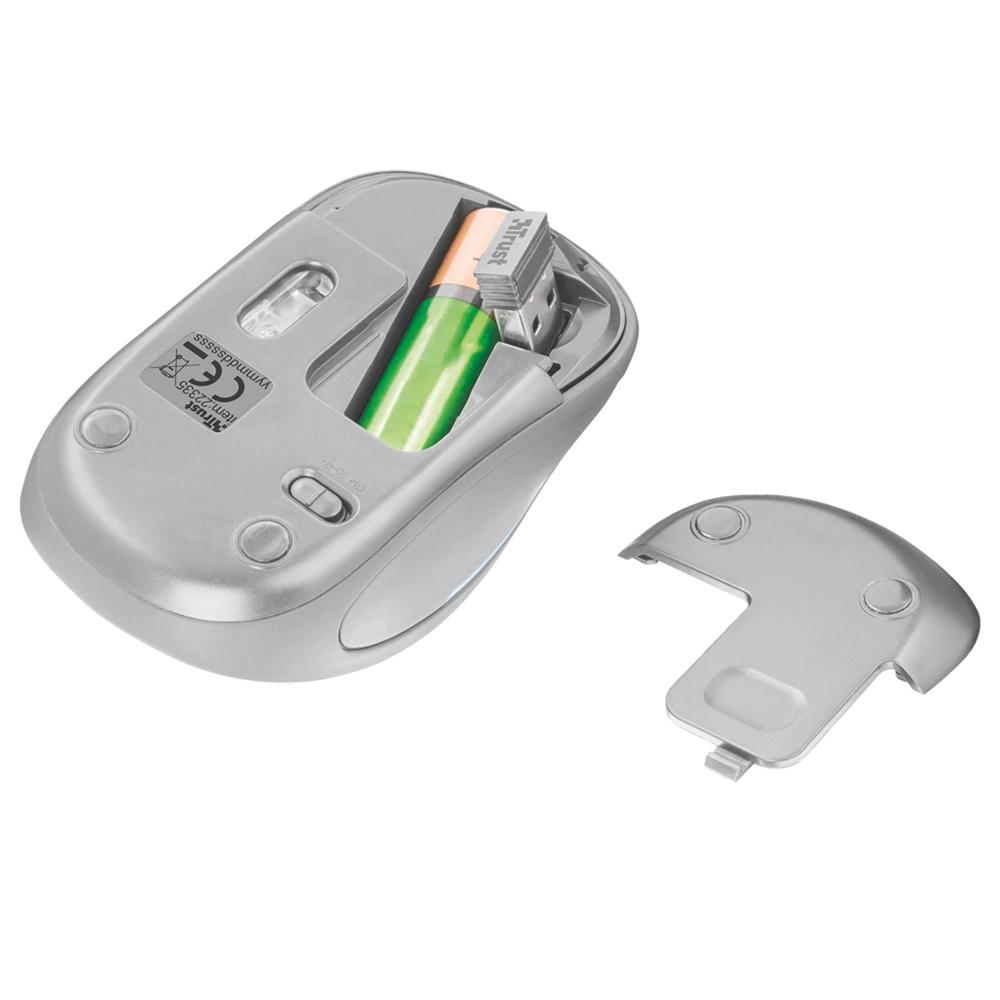 Mouse Wireless 2.4GHz Trust Yvi FX