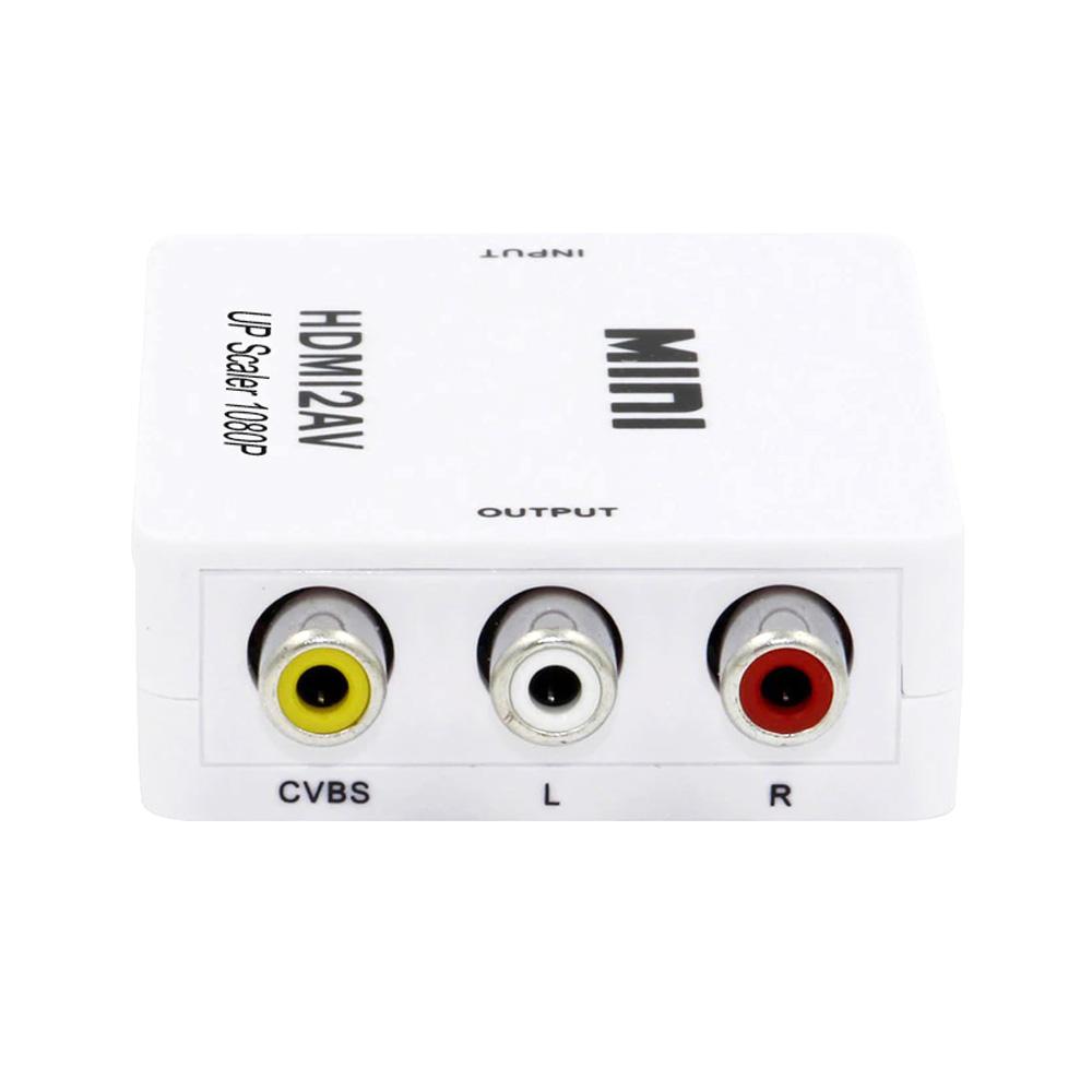 Adaptor Mini Convertor HDMI la AV(RCA)