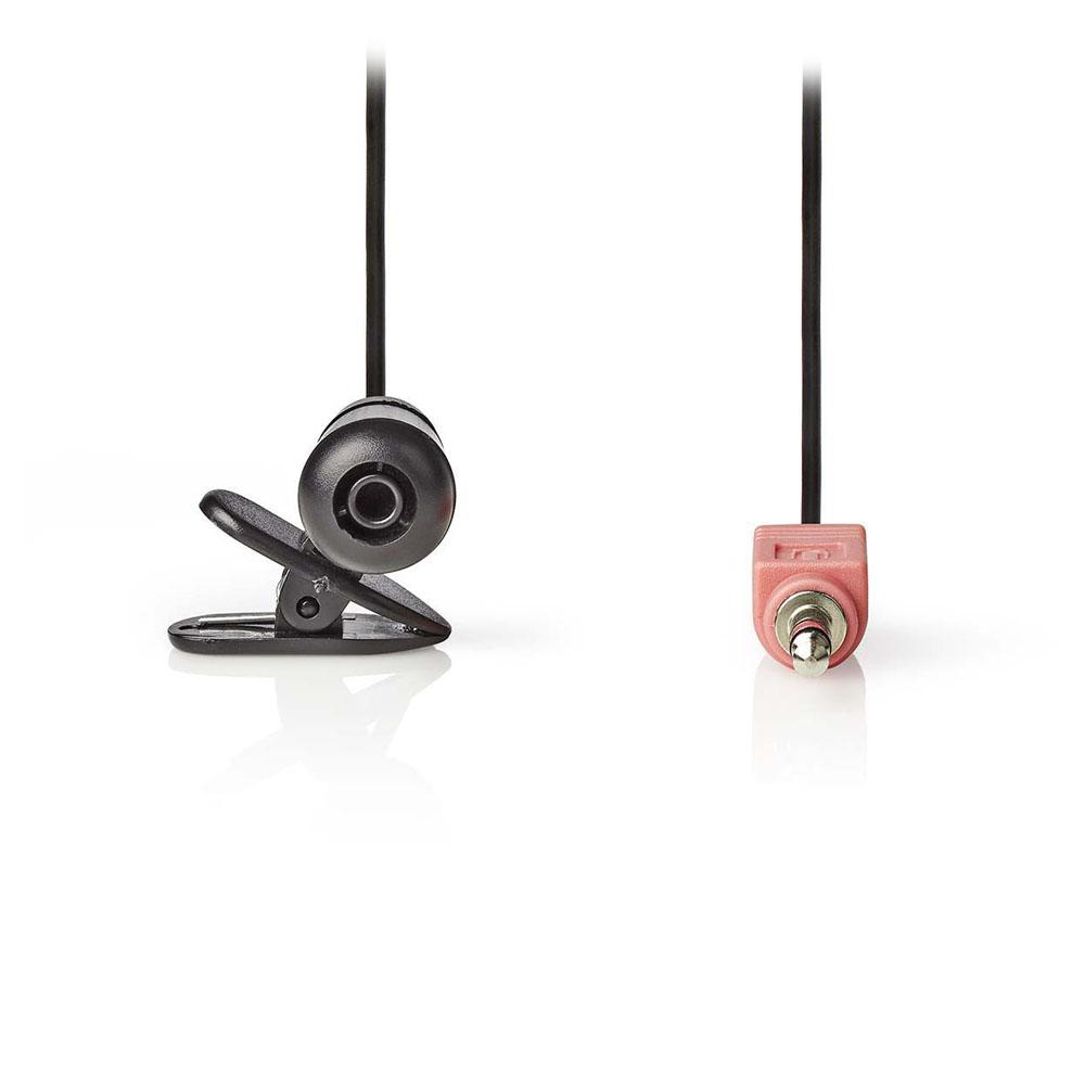 Microfon Lavaliera cu Clip 3.5mm Nedis