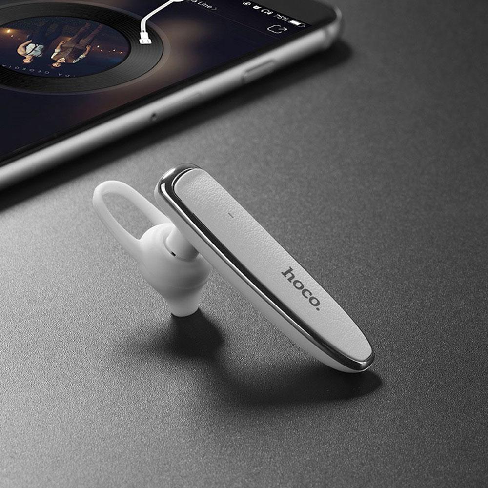 Headset Bluetooth V4.2 Hoco E29 Alb