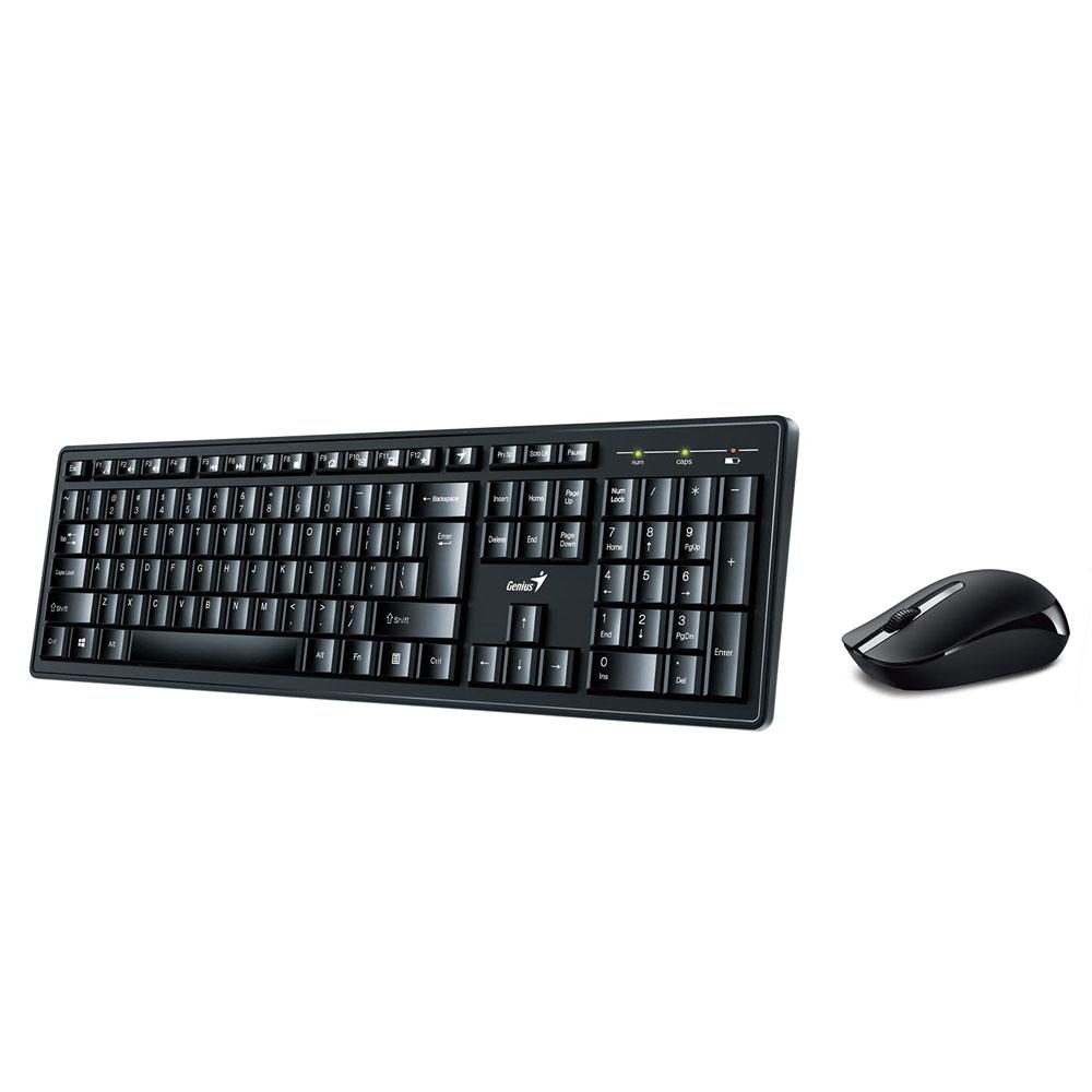 Kit Wireless Tastatura + Mouse Genius